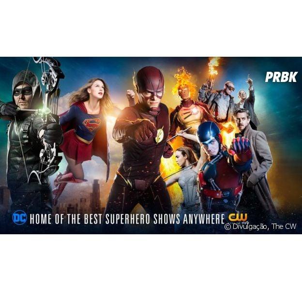 """De """"The Flash"""", """"Supergirl"""", """"Arrow"""" e """"Legends of Tomorrow"""": personagem de série importante se assume gay e fãs apostam em Oliver (Stephen Amell)!"""