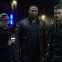 """Em """"Arrow"""": na 5ª temporada, produtor fala sobre relação de Oliver com Felicity e Diggle"""