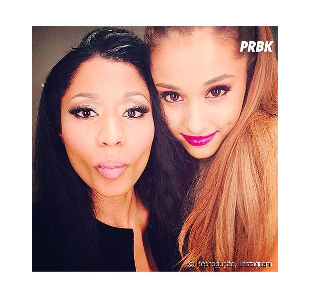 """Ariana Grande e Nick Minaj vão lançar clipe do single """"Side To Side"""" após performance no VMA"""