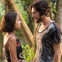 """Novela """"Velho Chico"""": Miguel (Gabriel Leone) e Olívia não transam e decidem namorar em segredo!"""