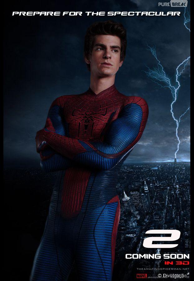 """Andrew Garfield, de """"O Espetacular Homem-Aranha"""", dispara sobre ficar nu: """"Eu amo ficar pelado"""""""