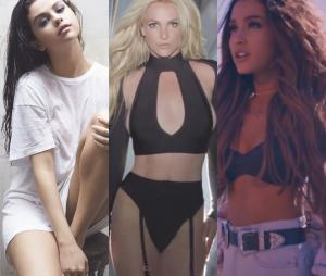 "Selena Gomez e Ariana Grande inspiraram Britney Spears no álbum ""Glory"""