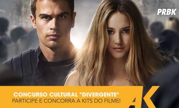 """Responda à pergunta e concorra a 6 Kits incríveis com brindes do filme """"Divergente""""!"""