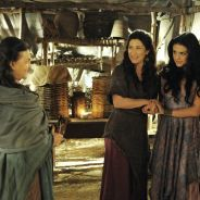 "Novela ""A Terra Prometida"": Samara (Paloma Bernardi) e Léia usam Adara e enganam Aruna!"