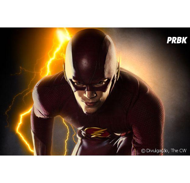 """Em """"The Flash"""", Grant Gustin publica foto de Barry em lugar bizarro!"""