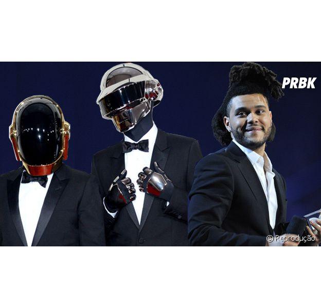 """The Weeknd lança """"Starboy"""", parceria explosiva com os astros do Daft Punk"""