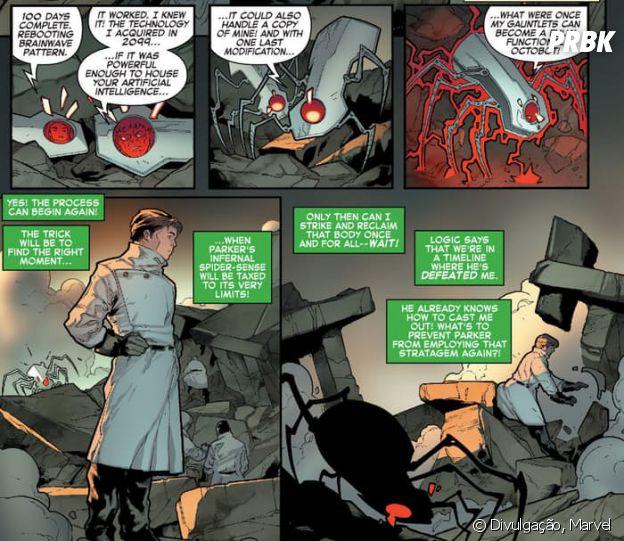 Da Marvel, quadrinho do Homem Aranha indica ressurreição do Doutor Otto Octavius
