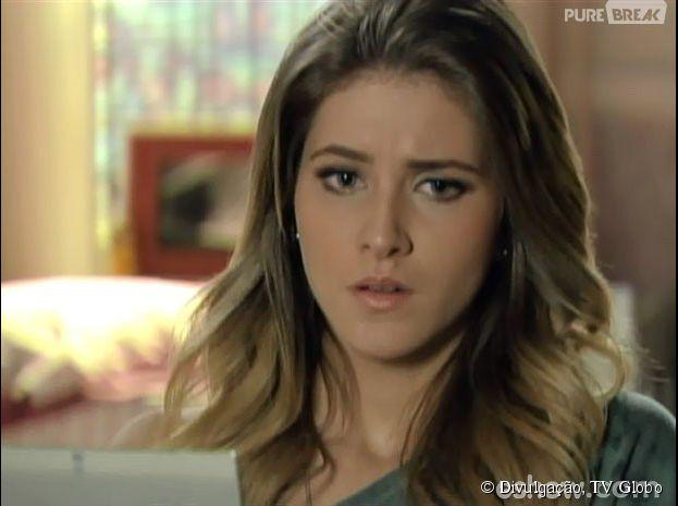"""Em """"Malhação"""", Sofia (Hanna Romanazzi) assumirá seu amor por Sidney (Vitor Thiré)"""