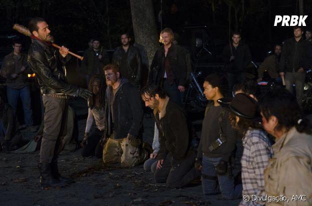 "Negan (Jeffrey Dean Morgan) vai acabar com o psicológico de todo mundo em ""The Walking Dead""!"