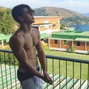 Biel mostra tanquinho em foto sem camisa e recebe elogios dos seguidores no Instagram!