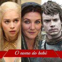 """Pais se inspiram em """"Game of Thrones"""" e batizam bebês com nomes de personagens"""