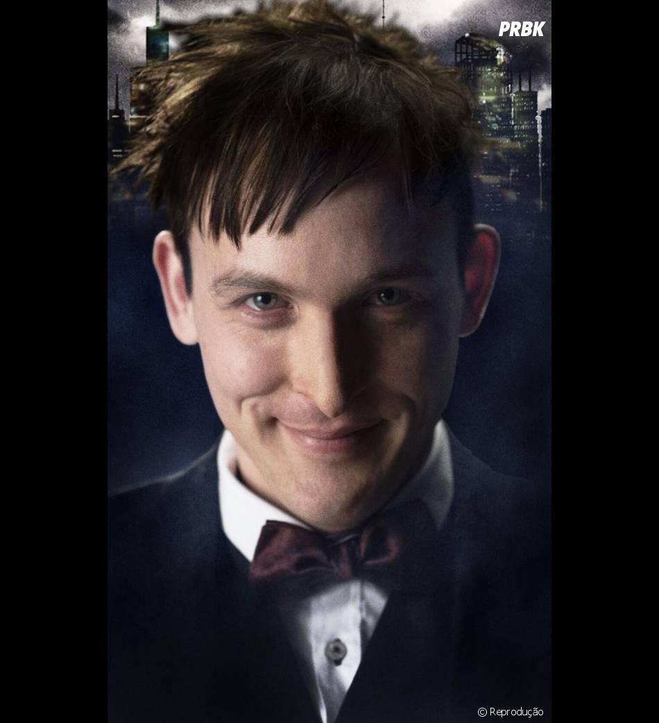 """Pinguim em """"Gotham"""" ainda está magrinho!"""