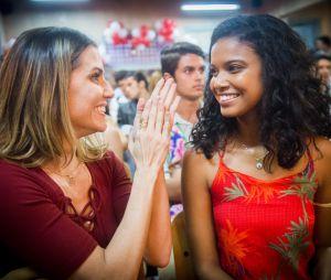 """Em """"Malhação"""",Aline Dias contracena com nomes como Deborah Secco"""