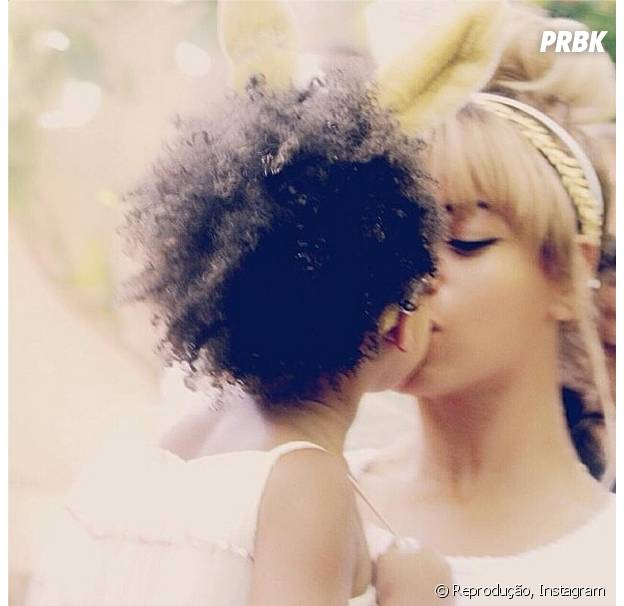 Beyoncé é mãe de Blue Ivy