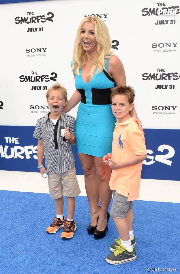 Britney Spears é mãe de dois meninos