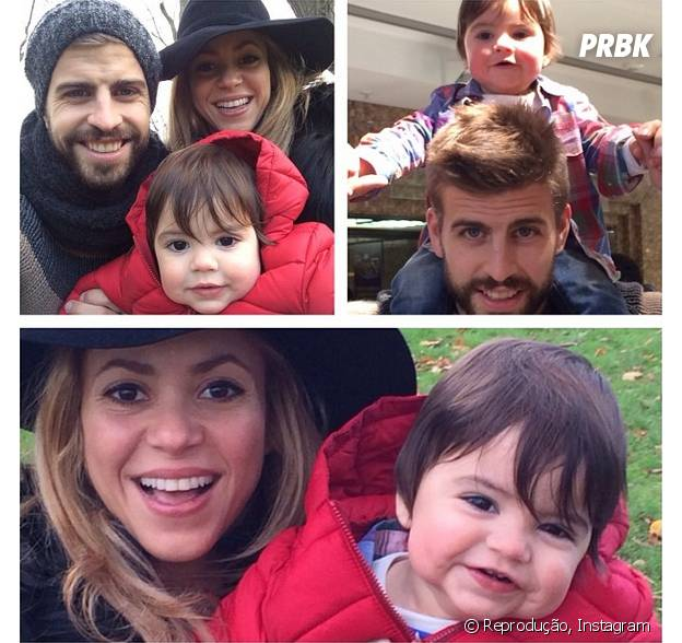 Shakira é mãe de Milan