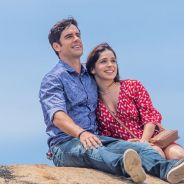 """Final """"Haja Coração"""": Shirlei (Sabrina Petraglia) e Felipe (Marcos Pitombo) planejam casamento!"""