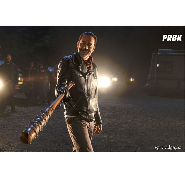 "Negan (Jeffrey Dean Morgan) está causando muito na 7ª temporada de ""The Walking Dead"""
