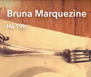 Bruna Marquezine se deliciou com as comidas típicas do Líbano