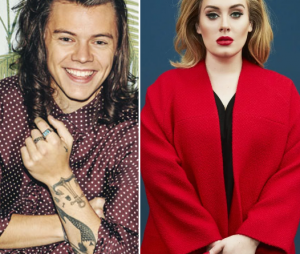 Adele, Zayn Malik e Harry Styles estão na lista dos artistas britânicos mais ricos do mundo