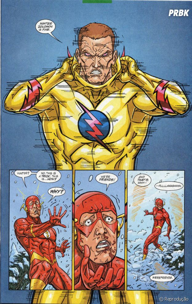 Wally West VS Dr. Zoom