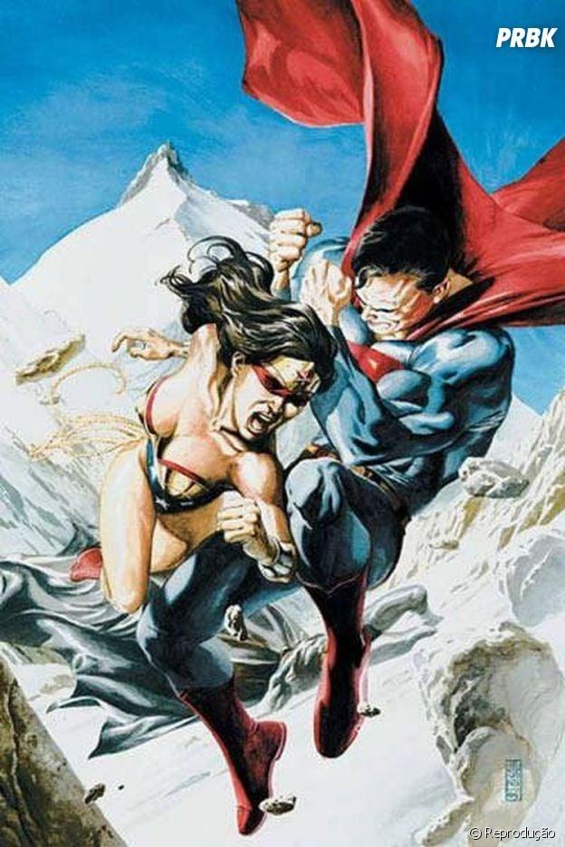 Mulher Maravilha VS Superman
