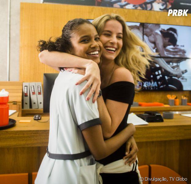"""Inimigas em """"Malhação"""", Aline Dias e Barbara França são melhores amigas na vida real!"""