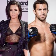 Demi Lovato posta 1ª foto ao lado do novo namorado, Luke Rockhold, no Instagram