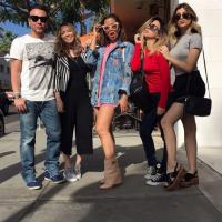 Anitta, Nah Cardoso e Tatá Werneck se encontram nos EUA e fãs piram!