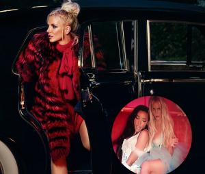 """Assista à prévia do clipe de """"Slumber Party"""" com Britney Spears e Tinashe sensualizando!"""