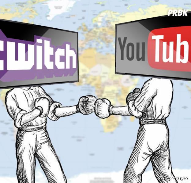 A concorrência entre Youtube e Twitch pode se tornar uma parceria