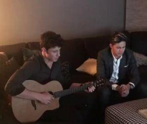 """Shawn Mendes e Niall Horan cantam """"Mercy"""" juntos!"""