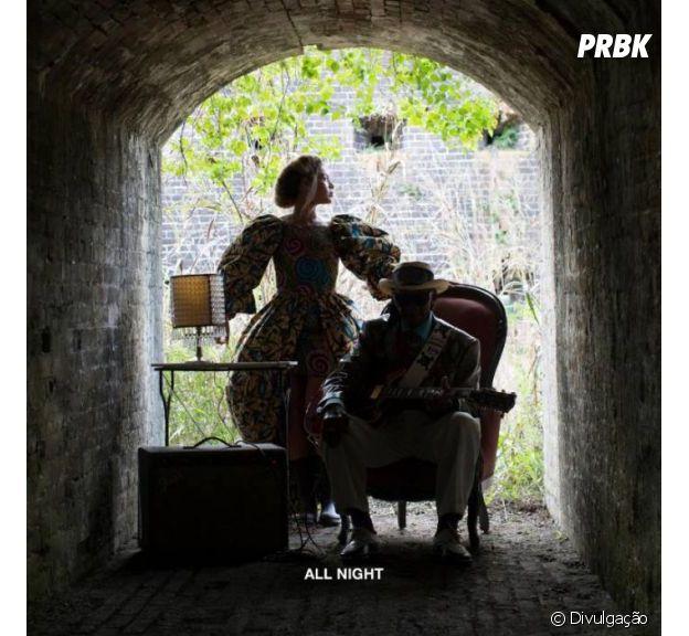 """""""All Night"""", produção do DJ Diplo, é a atual música de trabalho da cantora Beyoncé"""