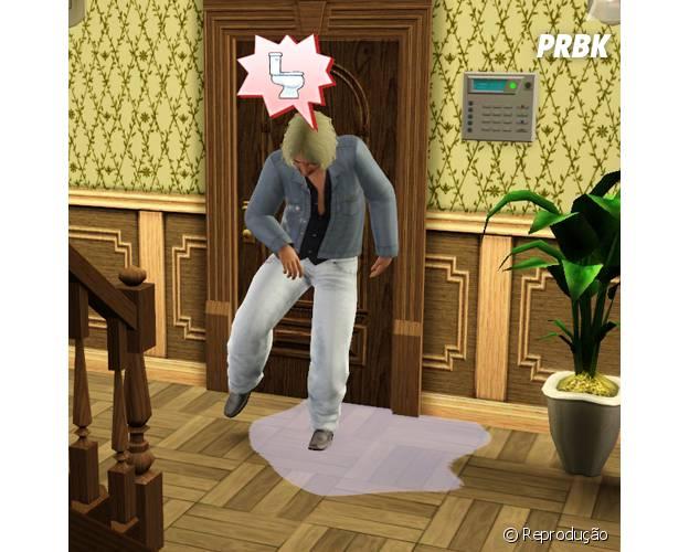 """Fazendo xixi na calça em """"The Sims"""""""