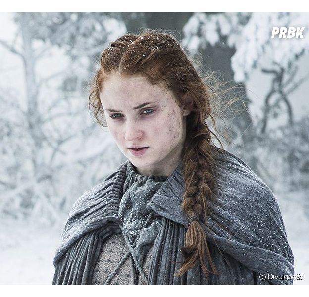 """Em """"Game of Thrones"""": Sansa (Sophie Turner) grávida? Site esclarece boatos!"""