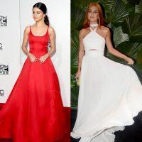 Selena Gomez x Marina Ruy Barbosa: vote na musa que vestiu o melhor look monocromático!