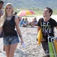 """Em """"Geração Brasil"""": Davi salva Megan de afogamento e vira herói"""