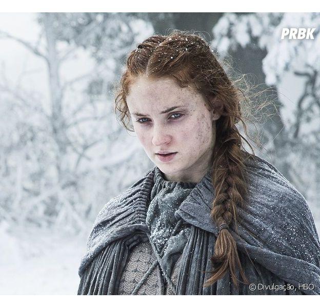 """De """"Game of Thrones"""": na 7ª temporada, Sophie Turner abre o jogo sobre futuro de Sansa"""