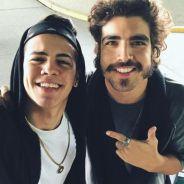 """Biel e Caio Castro aparecem juntos e recebem elogios dos fãs: """"Coisas maravilhosas"""""""