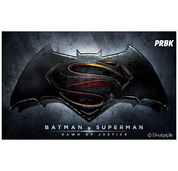 """Batman v Superman: Dawn of Justice"" finalmente ganha título e logo oficial"