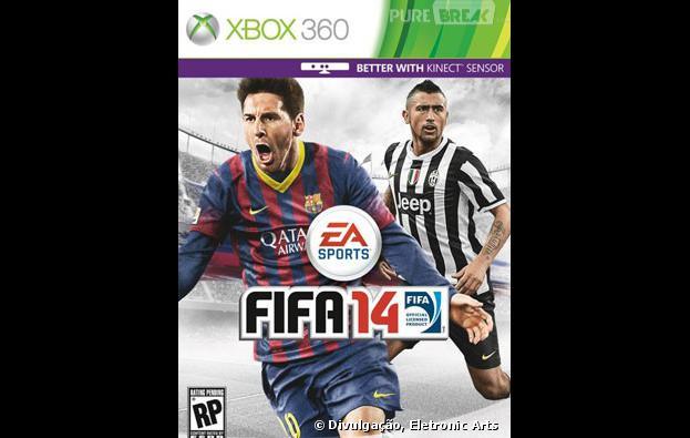 Capa de FIFA 14