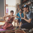 """De """"Eu Fico Loko - O Filme"""": Christian Figueiredo é só felicidade nos cliques feitos por trás das filmagens"""