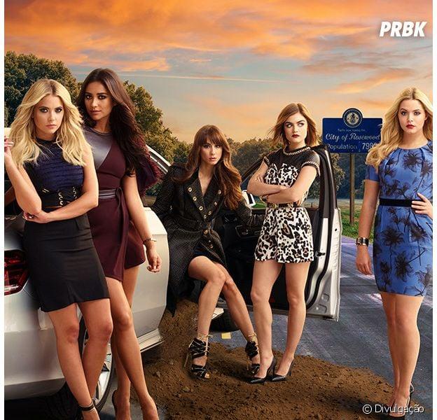 "Final ""Pretty Little Liars"": em novo teaser, meninas ganham presente misterioso!"