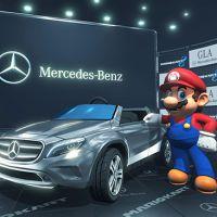 """Em """"Mario Kart 8"""", dirija uma Mercedes """"GLA SUV"""" nas corridas!"""