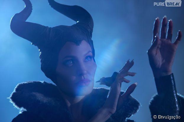 "Angelina Jolie interpreta a protagonista de ""Malévola"""