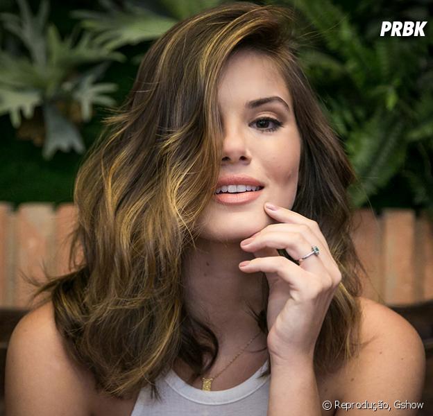 Camila Queiroz muda o visual para sua próxima novela