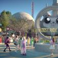 """Katy Perry mostra um parque de diversões cheio de referências às medidas loucas do Presidente Trump no clipe de """"Chained To The Rhythm"""""""