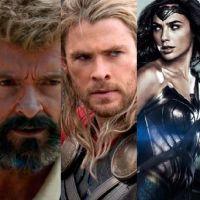 """""""Logan"""", """"Thor: Ragnarok"""" e """"Mulher Maravilha"""": filmes de super-heróis que você tem que ver em 2017!"""