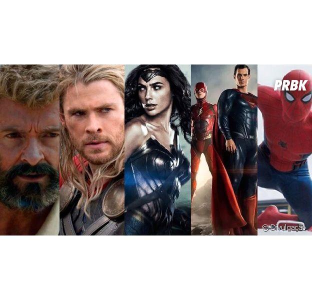 Marvel e DC se preparam para os lançamentos de 2017