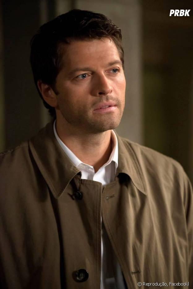 """O anjo Castiel (Misha Collins), da série """"Supernatural"""", poderia salvar Hazel (Shailene Woodley) com seu toque angelical, no filme """"A Culpa é Das Estrelas""""!"""